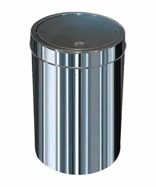 Arı Metal  İtme Kapaklı Çöp Kovası No:1