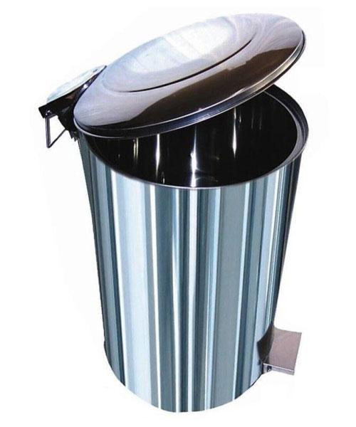 Arı Metal  Pedallı çöp Kovası 95 lt