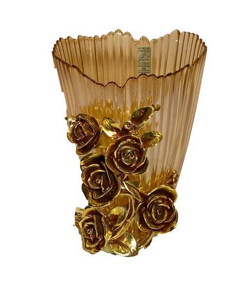 Royal Art Alize Amber Gold Vazo