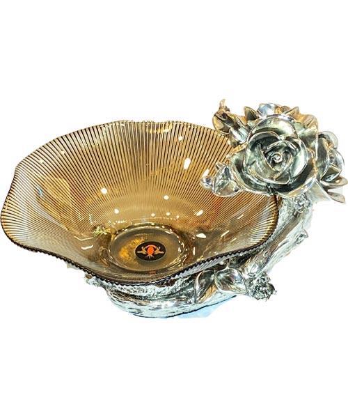 Royal Art Alize Kuvars Silver Şekerlik
