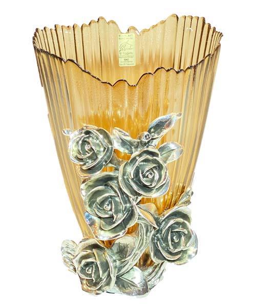 Royal Art Alize Kuvars Silver Vazo