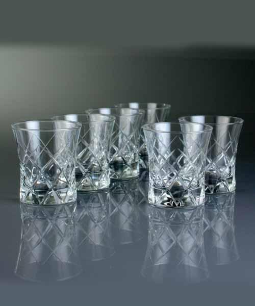 Abka Bardak 420014 Kare Su ve Meşrubat Bardağı