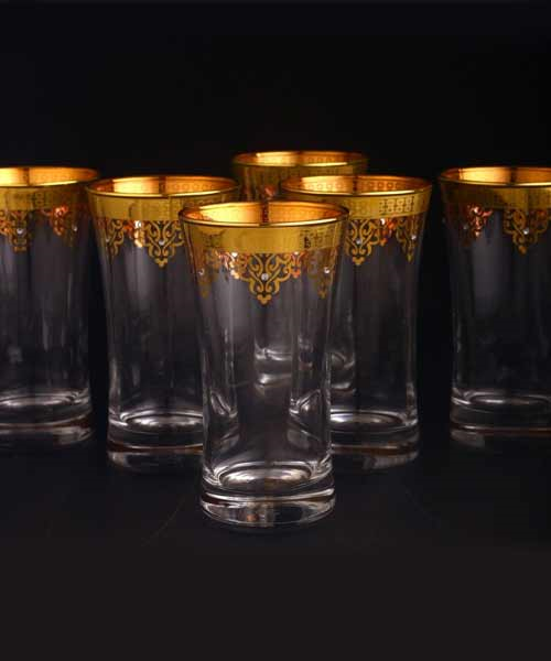 Abka Bardak 420055 Ottman Boncuk Altın