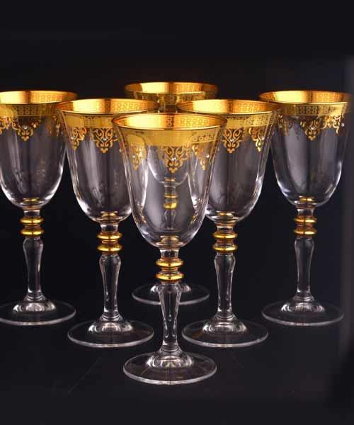 Abka Bardak 440141 Ayaklı Ottoman Altın