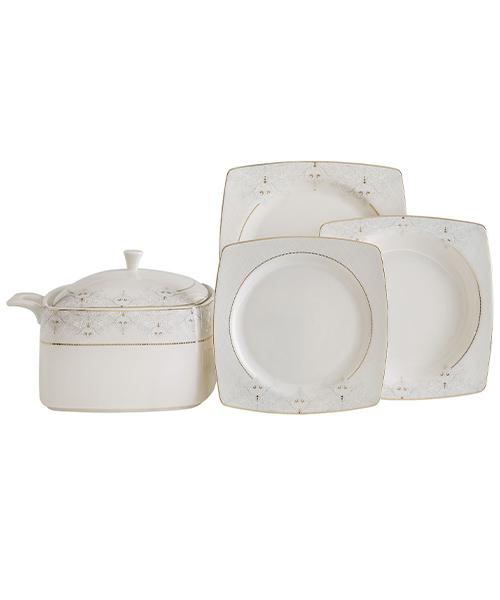 Güral Porselen Caroline 85 Parça Yemek Takımı 5433