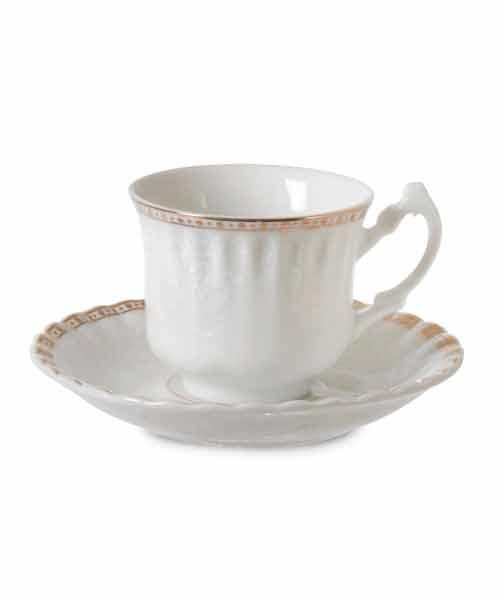 İpek 6 Kişilik  Kahve Fincan Takımı  9445
