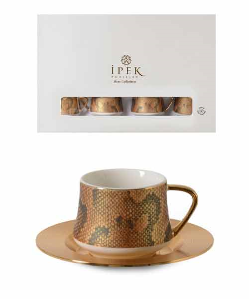 İpek Porselen 6 Kişilik Kahve Takımı 091