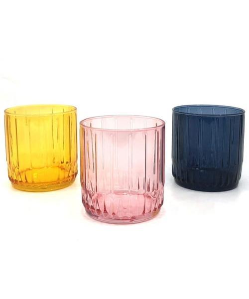 Paşabahçe Leia Renkli Meşrubat Bardağı 3 Lü